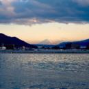 諏訪子から見える富士山 Mt. Fuji From Lake Suwa(Nagano)