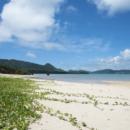 石垣 明石付近のビーチ