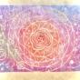 31ケシゴムハンコアートNO31題「ココロの音色」